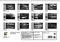 Scotland in Black and White (Wall Calendar 2019 DIN A3 Landscape) - Produktdetailbild 13