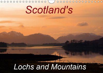 Scotland's Lochs and Mountains (Wall Calendar 2019 DIN A4 Landscape), PHILIP COLCLOUGH