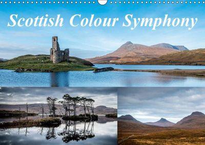 Scottish Colour Symphony (Wall Calendar 2019 DIN A3 Landscape), Michiel Mulder