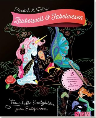 Scratch & Relax: Zauberwelt & Fabelwesen