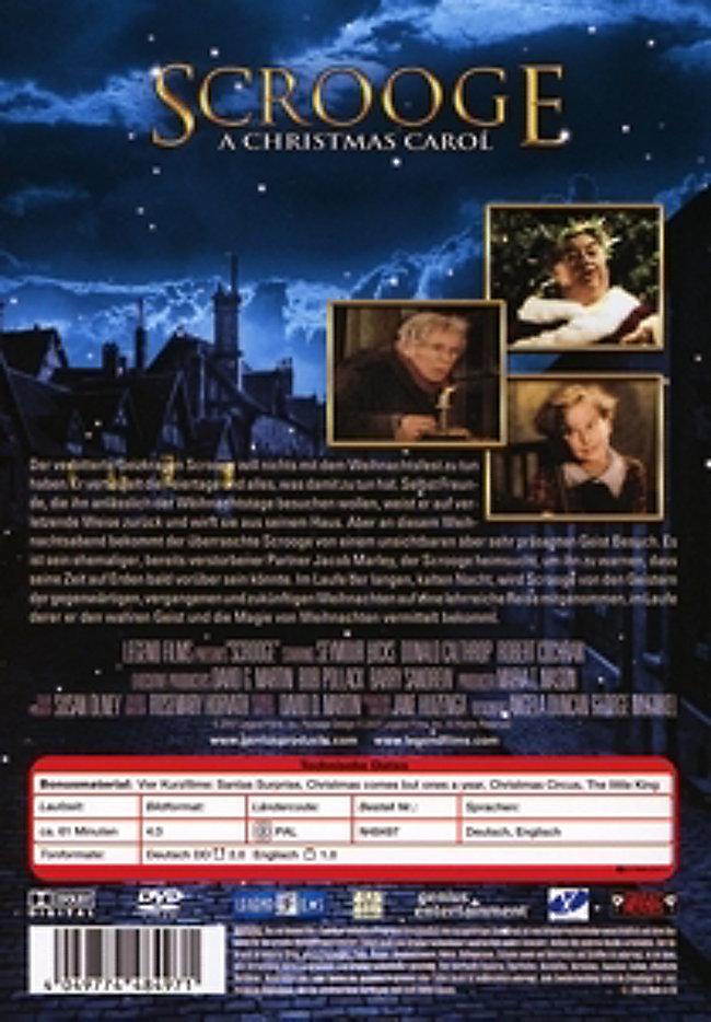 Scrooge - A Christmas Carol DVD bei Weltbild.de bestellen