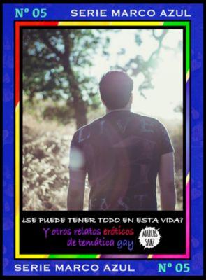 ¿Se puede tener todo en esta vida? Y otros relatos eróticos de temática gay. Serie Marco Azul Nº5, Marcos Sanz