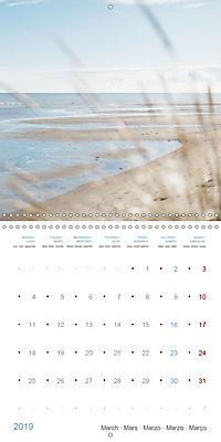 Sea Longing (Wall Calendar 2019 300 × 300 mm Square) - Produktdetailbild 3