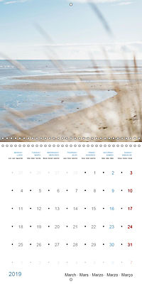 Sea Longing (Wall Calendar 2019 300 × 300 mm Square) - Produktdetailbild 3