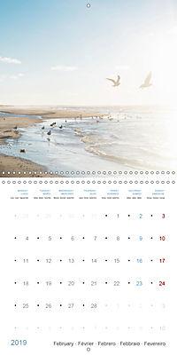 Sea Longing (Wall Calendar 2019 300 × 300 mm Square) - Produktdetailbild 2