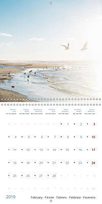Sea Longing (Wall Calendar 2019 300 × 300 mm Square) - Produktdetailbild 2