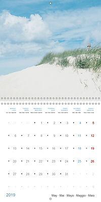 Sea Longing (Wall Calendar 2019 300 × 300 mm Square) - Produktdetailbild 5