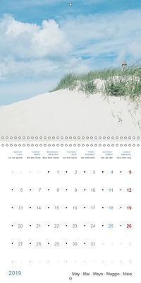 Sea Longing (Wall Calendar 2019 300 × 300 mm Square) - Produktdetailbild 5