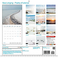 Sea Longing (Wall Calendar 2019 300 × 300 mm Square) - Produktdetailbild 13
