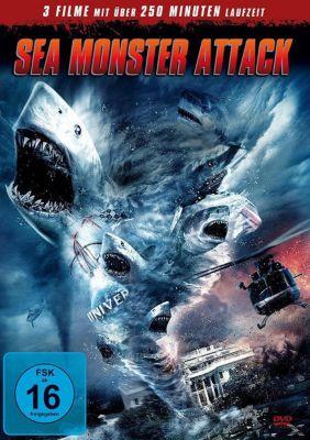 Sea Monster Attack DVD-Box, Diverse Interpreten