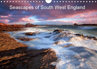 Seascapes of South West England (Wall Calendar 2019 DIN A4 Landscape), Andy Fox