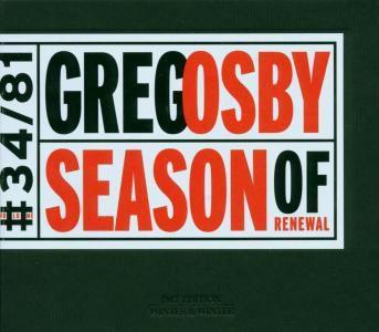 Season Of Renewal, Greg Osby
