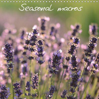 Seasonal macros (Wall Calendar 2019 300 × 300 mm Square), Vassilis Korkas Photography