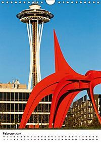 Seattle - Moderne Stadt des Nordwestens (Wandkalender 2019 DIN A4 hoch) - Produktdetailbild 2