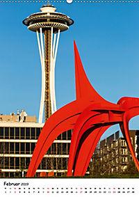 Seattle - Moderne Stadt des Nordwestens (Wandkalender 2019 DIN A2 hoch) - Produktdetailbild 2