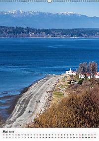 Seattle - Moderne Stadt des Nordwestens (Wandkalender 2019 DIN A2 hoch) - Produktdetailbild 5