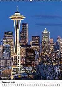 Seattle - Moderne Stadt des Nordwestens (Wandkalender 2019 DIN A2 hoch) - Produktdetailbild 12