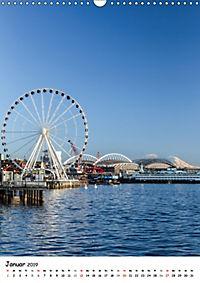 Seattle - Moderne Stadt des Nordwestens (Wandkalender 2019 DIN A3 hoch) - Produktdetailbild 1