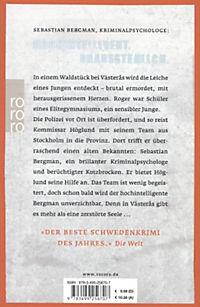 Sebastian Bergman Band 1: Der Mann, der kein Mörder war - Produktdetailbild 1