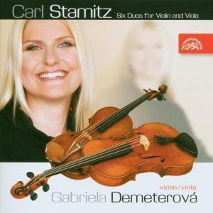 Sechs Duos für Violine & Viola, Gabriela Demeterova