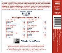 Sechs Klaviersonaten Op. 17 - Produktdetailbild 1