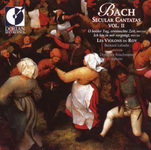 Secular Cantatas Ii, Les Violons Du Roy, Bernard Labadie