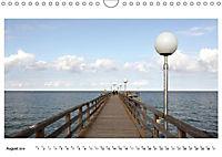Seebrücken - Ein Streifzug entlang der Ostseeküste (Wandkalender 2019 DIN A4 quer) - Produktdetailbild 8