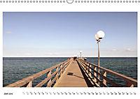 Seebrücken - Ein Streifzug entlang der Ostseeküste (Wandkalender 2019 DIN A3 quer) - Produktdetailbild 6