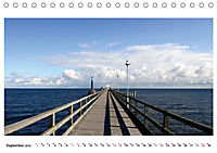 Seebrücken - Ein Streifzug entlang der Ostseeküste (Tischkalender 2019 DIN A5 quer) - Produktdetailbild 9
