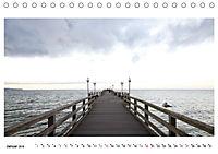 Seebrücken - Ein Streifzug entlang der Ostseeküste (Tischkalender 2019 DIN A5 quer) - Produktdetailbild 1