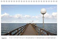 Seebrücken - Ein Streifzug entlang der Ostseeküste (Tischkalender 2019 DIN A5 quer) - Produktdetailbild 8