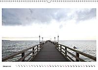 Seebrücken - Ein Streifzug entlang der Ostseeküste (Wandkalender 2019 DIN A3 quer) - Produktdetailbild 1