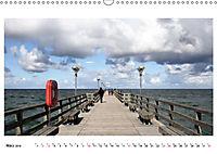Seebrücken - Ein Streifzug entlang der Ostseeküste (Wandkalender 2019 DIN A3 quer) - Produktdetailbild 3