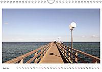Seebrücken - Ein Streifzug entlang der Ostseeküste (Wandkalender 2019 DIN A4 quer) - Produktdetailbild 6