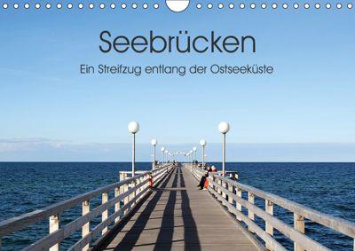 Seebrücken - Ein Streifzug entlang der Ostseeküste (Wandkalender 2019 DIN A4 quer), Oliver Buchmann