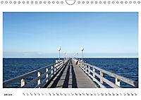Seebrücken - Ein Streifzug entlang der Ostseeküste (Wandkalender 2019 DIN A4 quer) - Produktdetailbild 7