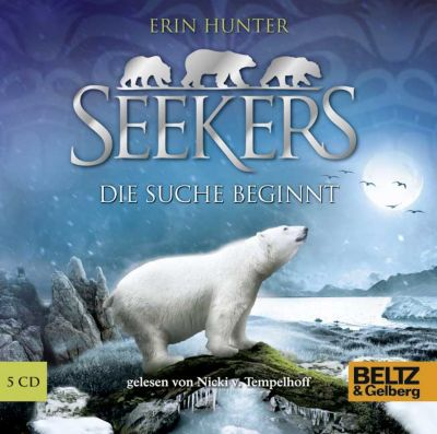 Seekers Band 1: Die Suche beginnt (5 Audio-CDs), Erin Hunter