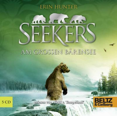 Seekers Band 2: Am Großen Bärensee (5 Audio-CDs), Erin Hunter