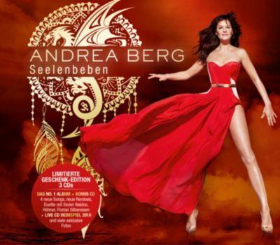 Seelenbeben - Geschenk-Edition (Limitiertes Ecolbook, 3 CDs), Andrea Berg