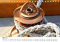 Seemannsgarn 2019. Impressionen von Tau und Takelage (Tischkalender 2019 DIN A5 quer) - Produktdetailbild 5