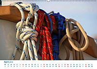 Seemannsgarn 2019. Impressionen von Tau und Takelage (Wandkalender 2019 DIN A2 quer) - Produktdetailbild 4
