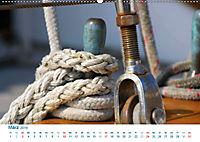 Seemannsgarn 2019. Impressionen von Tau und Takelage (Wandkalender 2019 DIN A2 quer) - Produktdetailbild 3