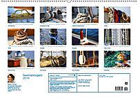 Seemannsgarn 2019. Impressionen von Tau und Takelage (Wandkalender 2019 DIN A2 quer) - Produktdetailbild 13
