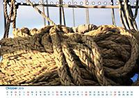 Seemannsgarn 2019. Impressionen von Tau und Takelage (Tischkalender 2019 DIN A5 quer) - Produktdetailbild 10