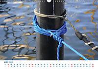 Seemannsgarn 2019. Impressionen von Tau und Takelage (Wandkalender 2019 DIN A3 quer) - Produktdetailbild 6