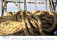 Seemannsgarn 2019. Impressionen von Tau und Takelage (Wandkalender 2019 DIN A3 quer) - Produktdetailbild 10