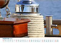 Seemannsgarn 2019. Impressionen von Tau und Takelage (Wandkalender 2019 DIN A3 quer) - Produktdetailbild 9