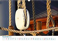Seemannsgarn 2019. Impressionen von Tau und Takelage (Wandkalender 2019 DIN A3 quer) - Produktdetailbild 11