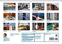 Seemannsgarn 2019. Impressionen von Tau und Takelage (Wandkalender 2019 DIN A3 quer) - Produktdetailbild 13