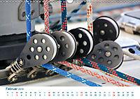 Seemannsgarn 2019. Impressionen von Tau und Takelage (Wandkalender 2019 DIN A3 quer) - Produktdetailbild 2